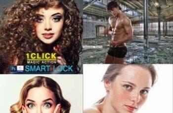 Smart Lock Photoshop Action 22693537 3