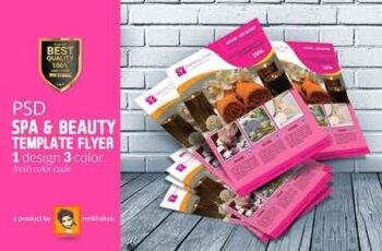 Beauty Spa Flyer 2948296 6