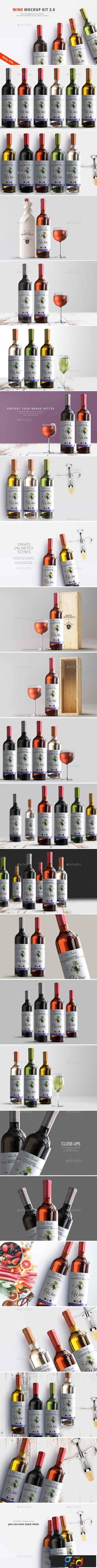 Wine Mockup Kit 2.0 22732337 1