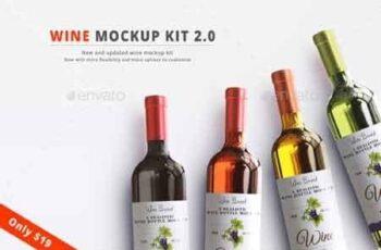 Wine Mockup Kit 2.0 22732337 16