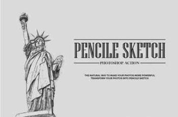 Pencil Sketch Photoshop Action 3505096 4