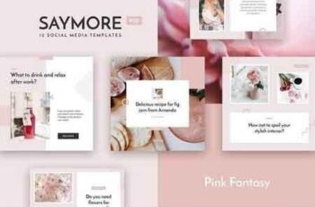 Saymore Pink Fantasy Templates 3108409 4