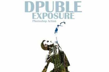 Double Exposure Photoshop Action 22786531 7