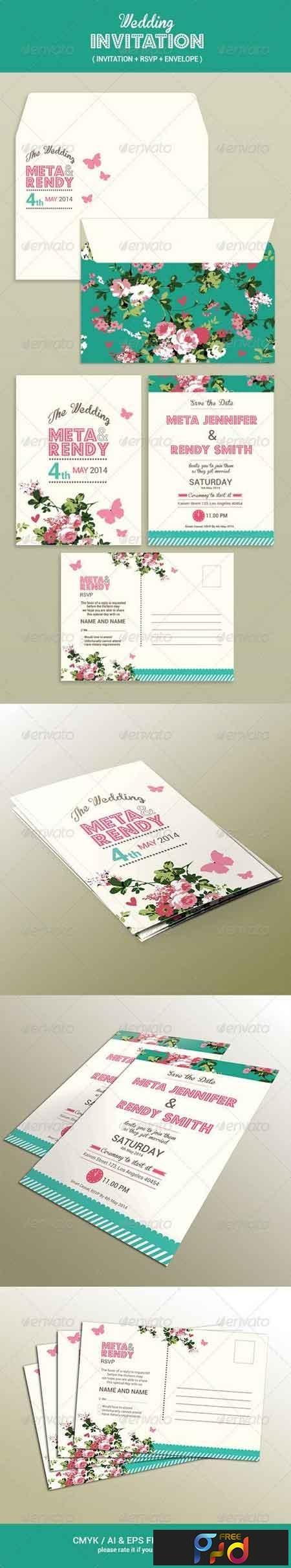 Wedding Invitation Set 7596182 1