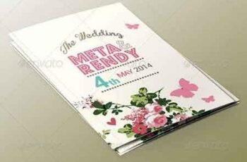 Wedding Invitation Set 7596182 2