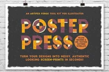 Poster Press - Screen-Print Creator 2431834 2