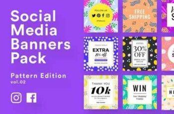 Social Media Banner Templates Vol.2 3490608 3