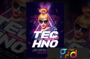 Techno Dj Flyer 3490689 6