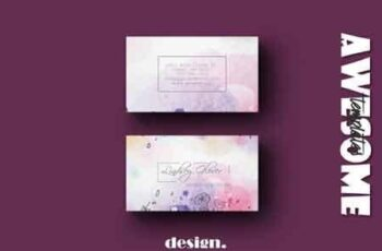 Wedding Business Card Template 3490683 2
