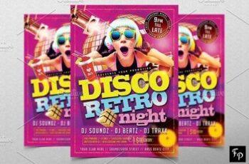 Disco Retro Flyer 2905440 6
