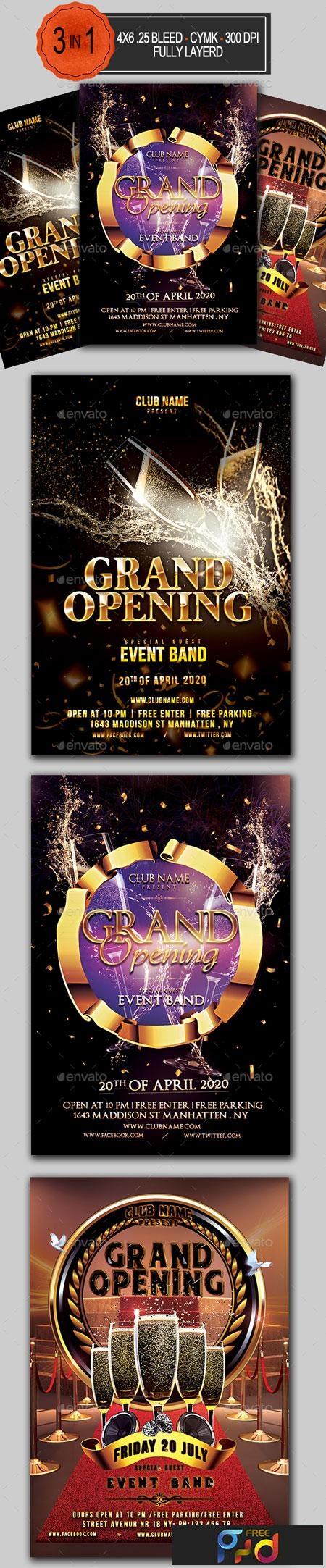 Grand Opening Flyer Bundle 22717388 1