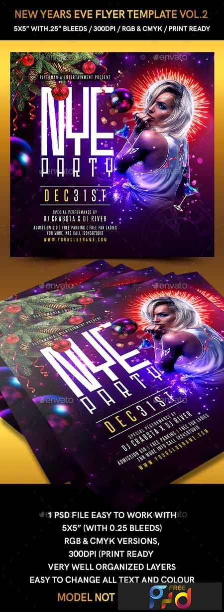 Free New Years Eve Flyer Template from freepsdvn.com