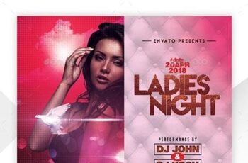 Night Club Flyer Template 22754573 3