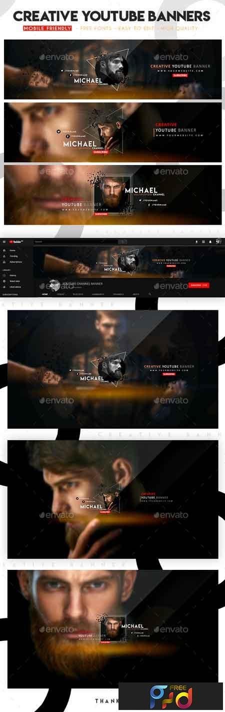 Creative Multipurpose YouTube Banners 22714302 1