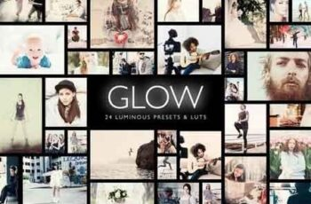 Glow 24 Luminous Presets  LUTs 3165590 6