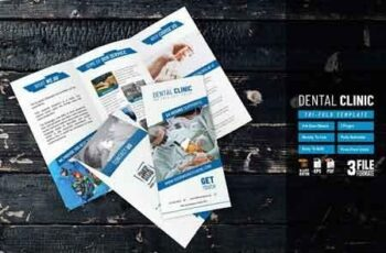 Dental Clinic Trifold Template 2803662 6