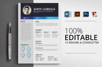 Business Job CV Resume Word 2793712 6