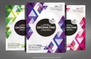 Geomatrik Flyer 3487966 5