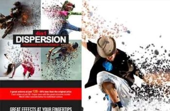 4-In-1 Dispersion Bundle Photoshop Action 22569035 5
