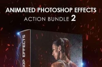 Animated Photoshop Effects Action Bundle 2 20088620 5