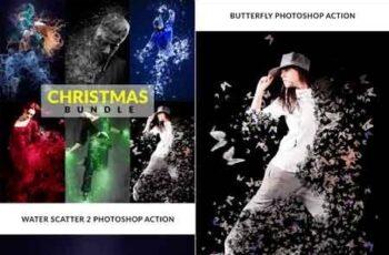 Christmas Photoshop Action Bundle 22813011 7