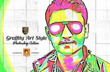 Graffity Art Style Photoshop Action 3072169 3