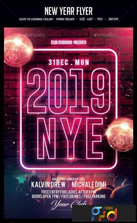New Year Flyer 22757961 1