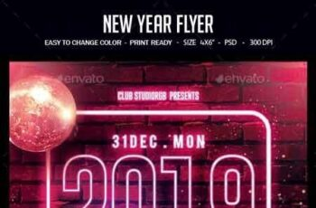New Year Flyer 22757961 11