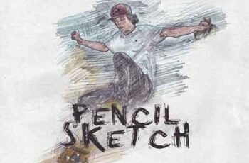 Pencil Sketch Photoshop Action 3131294 7