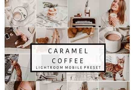 Mobile Lightroom Presets CARAMEL 3082822 - FreePSDvn