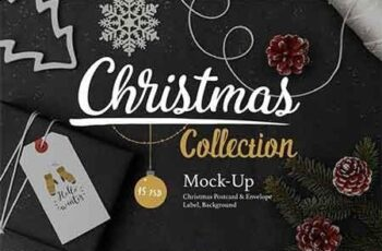 Christmas Mock-Up Collection 3125558 4
