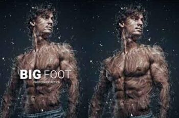 Big Foot Photoshop Action 22846977 3