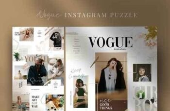 Vogue - instagram puzzle 3125793 5