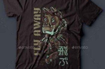 Fly Away T-Shirt Design 22143339 5