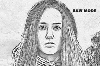 Realistic Pencil Sketch Photoshop Action Vol.2 19553148 5