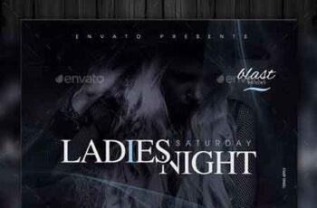 Ladies Night Flyer Template 22779221 2