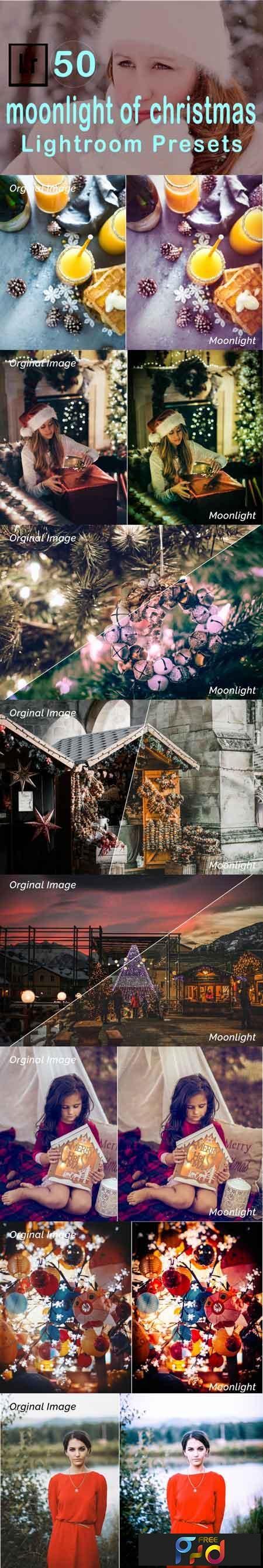 Moonlight of Christmas Lightroom Presets 3506493 1