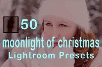 Moonlight of Christmas Lightroom Presets 3506493 6