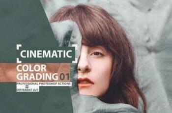 Cinematic Color Grading 01 Premium Photoshop Actions 3505473 3