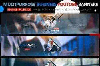 Creative Business YouTube Banners 22718632 2