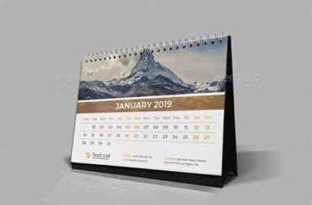 Desk Calendar 2019 22718666 3
