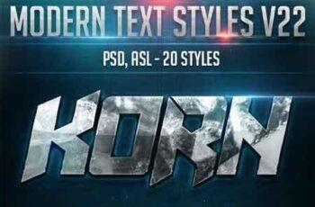 Modern Text Styles V22 22722366 5