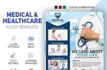 Medical & Healthcare Flyer 22730948 2