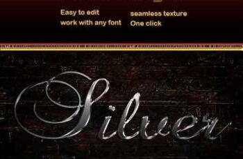 Silver Text Effect 22727954 4