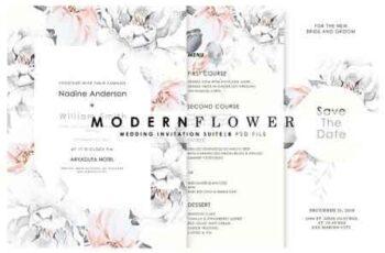 Modern Flower - Wedd Suite Ac. 97 3135043 2