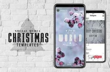 Social Media Christmas Templates 3148419 5