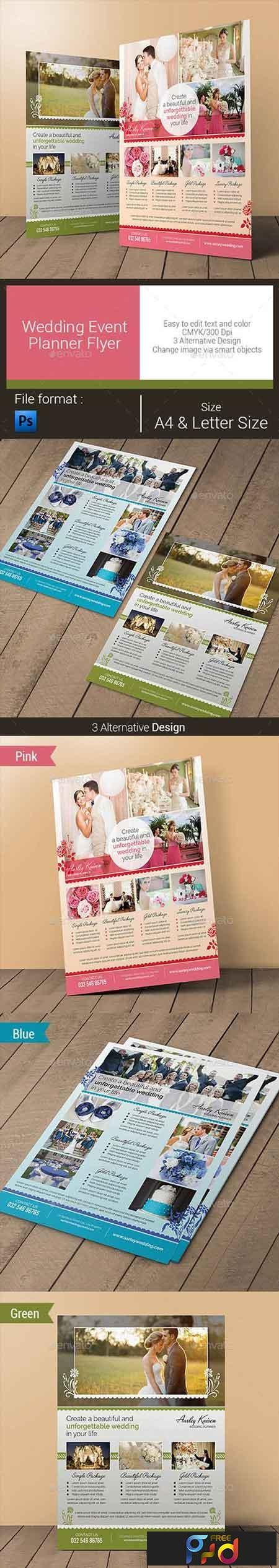 Wedding Event Planner Flyer 10796720 1