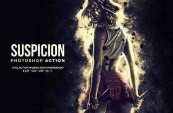 Suspicion Photoshop Action VUL72X 4