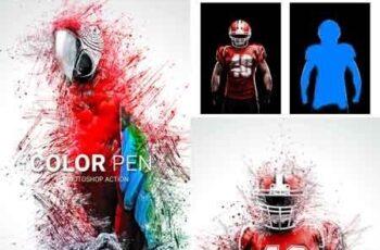 Color Pen Photoshop Action 22823757 13