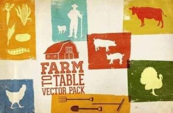 Farm to Table Vector Pack Volume 1 1269645 7